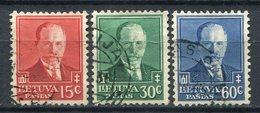 Lituania / Lietuva 1934 Yvert 340-2 USED