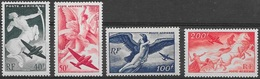 T 00169 - France 1946-47 PA N° 16 à 19 Neufs Luxe Côte 18.00 €