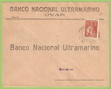 Historia Postal - Filatelia - Philately - Selos Ceres Perfurados - Perforated Stamps - Ovar - Santarém - Portugal - Postal Services