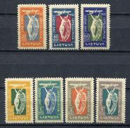 Lituania 1921. Yvert A 1-7 (ref 2) * MH.