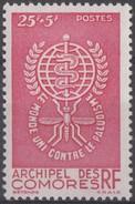N° 25 - X - ( C 32 ) - Comoro Islands (1950-1975)