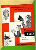 PROTEGE CAHIER : Tissu Garanti BOUSSAC  TISSGAR - Protège-cahiers