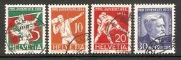 001049 Switzerland Pro Juventute 1932 Set FU - Pro Juventute