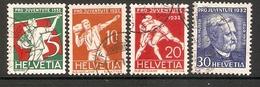 001050 Switzerland Pro Juventute 1932 Set FU - Pro Juventute