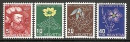 001051 Switzerland Pro Juventute 1949 Set MNH - Pro Juventute