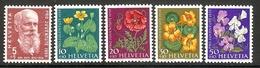 001052 Switzerland Pro Juventute 1959 Set MNH - Pro Juventute