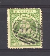 Guyana  :  Yv  31aA  (o)   Dentelé 12 - British Guiana (...-1966)
