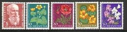 001053 Switzerland Pro Juventute 1959 Set MNH - Pro Juventute