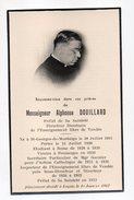 Religion--ésotérisme--carte Avis De Décès--Mr Alphonse DOUILLARD--1962--Vendée-85-enseignement Libre - Religion & Esotérisme