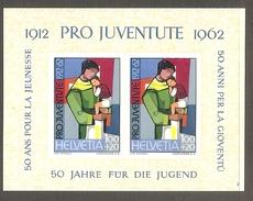 001061 Switzerland Pro Juventute 1962 Miniature Sheet MNH - Pro Juventute