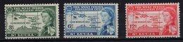 St Lucia, 1958, SG 185 - 187, MNH - St.Lucia (...-1978)