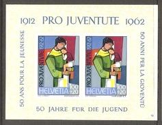 001065 Switzerland Pro Juventute 1962 Miniature Sheet MNH - Pro Juventute