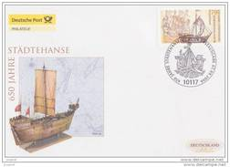 2006 Joint Germany Sweden, OFFICIAL GERMAN FDC: Hanseatic Towns - Joint Issues