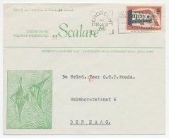 Envelop Dordrecht 1956 - Aquarium - 1891-1948 (Wilhelmine)