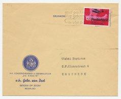 Firma Envelop Bergen Op Zoom 1968 - Conserven / Oestercultuur - Unclassified