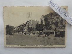 La Panne, Avenue De La Mer, Straßenansicht, Geschäfte, Gel. 1941 - De Panne