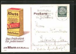 CPA Reklame Für Haferflocken Der Knorr AG Heilbronn - Pubblicitari