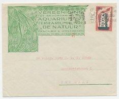 Firma Envelop Haarlem 1956 - Aquarium - 1891-1948 (Wilhelmine)