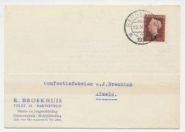 Firma Briefkaart Barneveld 1950 - Kleding - 1891-1948 (Wilhelmine)