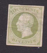 Hanover, Scott #24, Mint No Gum, King George V, Issued 1859 - Hanover