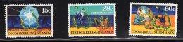 Cocos (Keeling ) Islands, 1980,  SG 50-52, Complete Set Of 3, MNH, Christmas - Cocos (Keeling) Islands