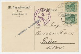 Duitsland - Gielsen 1916 - Censuur Gepasseerd - Periodo 1891 – 1948 (Wilhelmina)