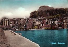 CEFALU-PALERMO-PANORAMA-CARTOLINA VIAGGIATA IL 28-7-1960-VERA FOTOGRAFIA - Palermo