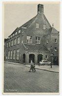 Prentbriefkaart Postkantoor Tiel 1955 - Pays-Bas