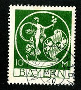 15584  Bayern 1920  Michel #194 O ( Cat 30.€ ) Offers Welcome - Bayern