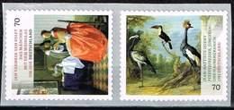 Bund 2017, Michel# 3280 - 3281 ** Schätze Aus Deutschen Museen: Gemälde Von Van Delft Und Oudry Selbstklebend, Self Adhe - Unused Stamps