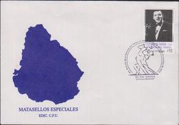 O) 2010 URUGUAY, TANGO IN SAN JOSE- THE WAND OF TANGO JULIO SOSA, FDC XF - Uruguay