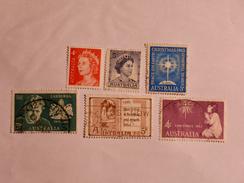 AUSTRALIE  1959-71  LOT # 10 - 1952-65 Elizabeth II : Ed. Pré-décimales