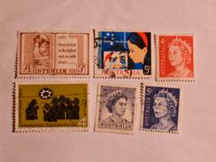 AUSTRALIE  1959-71  LOT # 11 - 1952-65 Elizabeth II : Ed. Pré-décimales