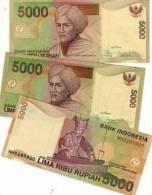 INDONESIA 5000 5,000 RUPIAH 2005 UNC - Indonesia