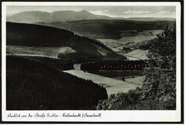 Nuttlar / Kallenhardt ( Sauerland ) -  Ausblick Von Der Strasse   -  Ansichtskarte Ca.1957    (7073) - Warstein