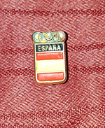 SPAIN OLYMPIC COMMITTEE, ORIGINAL OLD VINTAGE BUTTONHOLE PIN BADGE - Olympic Games