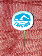 SWIMMING CLUB TRIGLAV KRANJ SLOVENIA, ORIGINAL VINTAGE PIN BADGE - Swimming