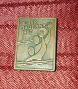 ADRIATIC CUP IN WATER POLO 1967., RARE ORIGINAL OLD VINTAGE PIN BADGE YUGOSLAVIA - Water Polo