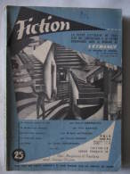 FICTION OPTA N° 25 Décembre 1955 - Fiction