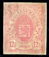 Armoiries 12½ Cent.  Non Detelé Marges étroites Prifix 7  Oblitéré - 1859-1880 Coat Of Arms