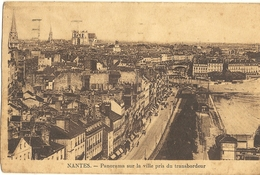 Nantes - Panorama Sur La Ville Pris Du Transbordeur  122 - Nantes