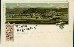 AK Regenstauf, Gruss Aus Litho, O 1909 (23166) - Duitsland