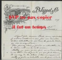 69 LYON - P. JUPPET & CIE - TELEGRAMMES - 22 OCTOBRE 1897 - 1800 – 1899