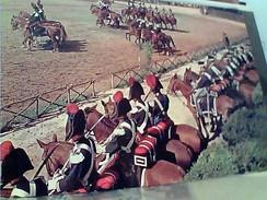 CARABINIERI A CAVALLO CAROSELLO STORICO VB1985  GB13367 - Manovre
