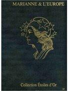 !!!....SALON Du TIMBRE 2012 Coffret Marianne De L'Europe Et étoiles D'or Tirage 6000 Ex - Sheetlets