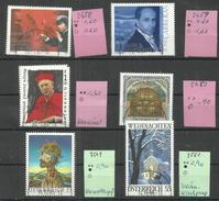 "Österreich 2458-2561 ""6 Briefmarken Aus Jahrgang 2004/2005"" Gestempelt. Mi.:9,30 € - 1945-.... 2ème République"