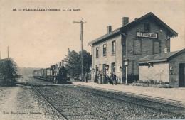 G86 - 80 - FLESSELLES - Somme - La Gare - France