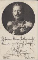 Rotes-Kreuz-Ansichtskarte Kaiser Wilhelm, Feldpost BECKUM 25.1.15 An Die Front - Sin Clasificación