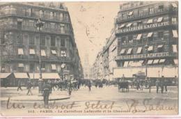 Dep  75 - Paris - Le Carrefour Lafayette Et La Chaussée D'Autin - Carte Précurseur   : Achat Immédiat - Autres