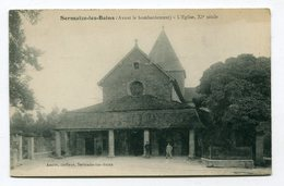 CPA  51  :   SERMAIZE Les BAINS   église    A  VOIR  !!!!!!! : - Sermaize-les-Bains